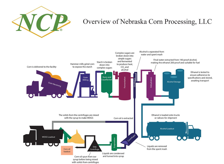 How Is Ethanol Made Nebraska Corn Processing